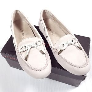 Vionic Honor Virginia Pale Pink Moccasin Loafer